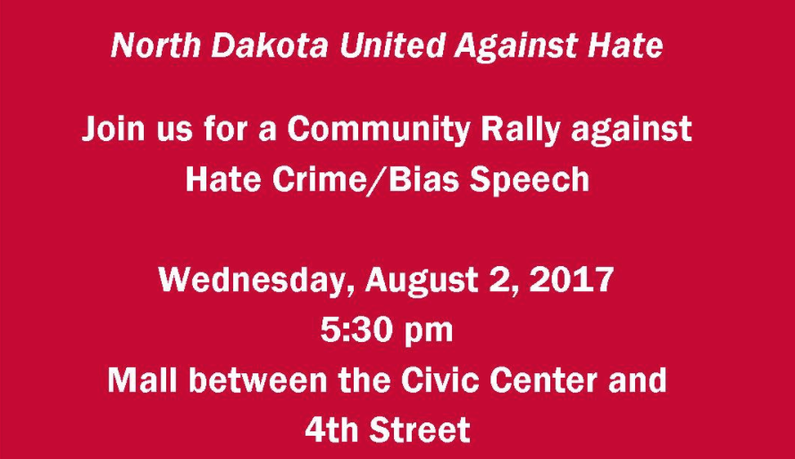 Community Rally Against Hate/Bias Crime